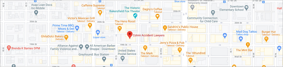 Directions to Colvin Accident Lawyers