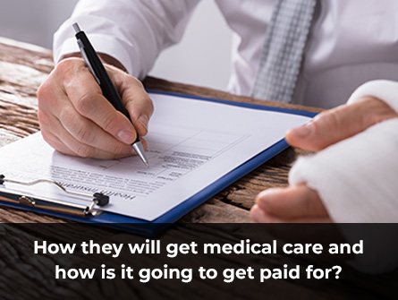 How Do You Pay For Medical Care After An Accident That Was Not Your Fault?